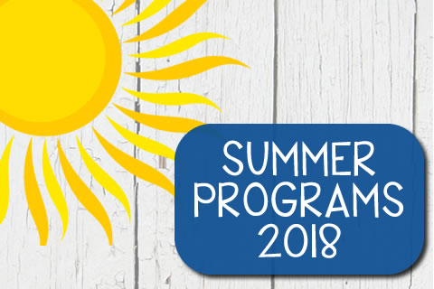Summer Opportunities 2018