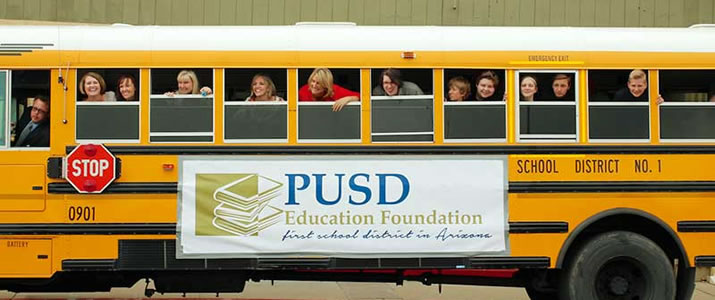 "PUSD Education Foundation ""prize patrol"" surprises grant recipients"