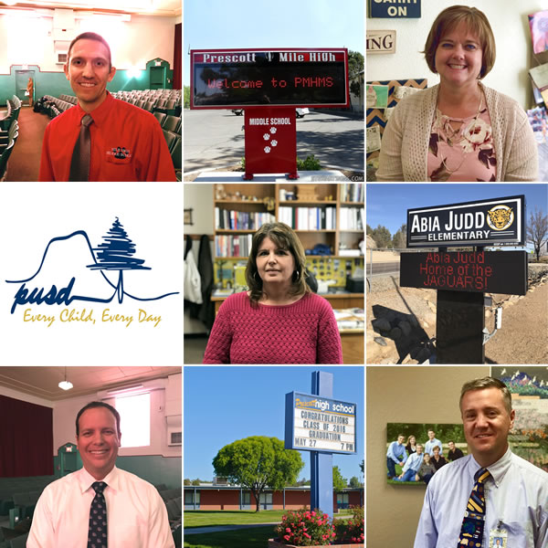Collage of principals