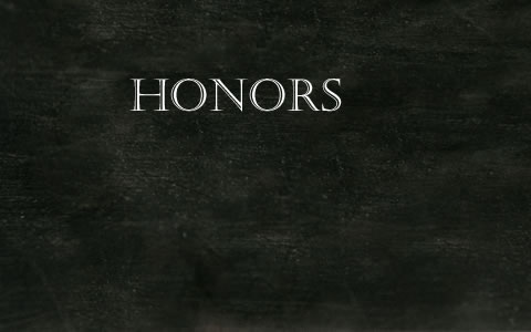 Honors Application for 2019-2020