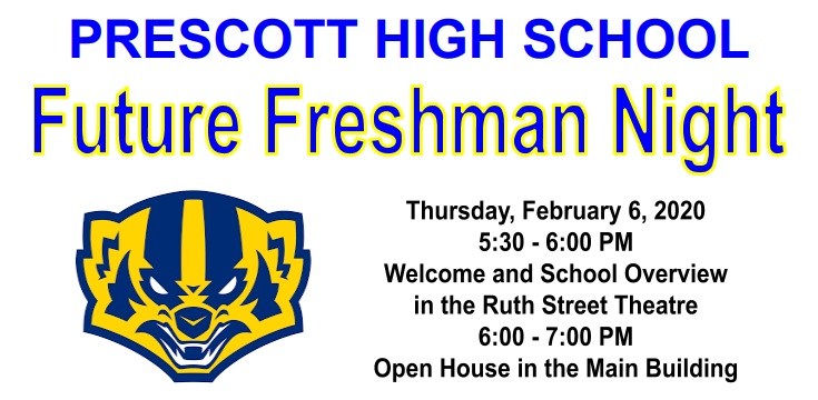 Future Freshman Night, Thursday February 6th!